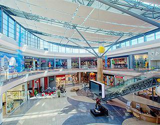 Shapping mall interior photography